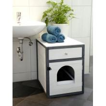Mēbeles kaķu tualetei Ida