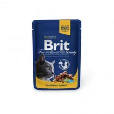 Brit Premium kaķiem, vista ar tītaru, 100g