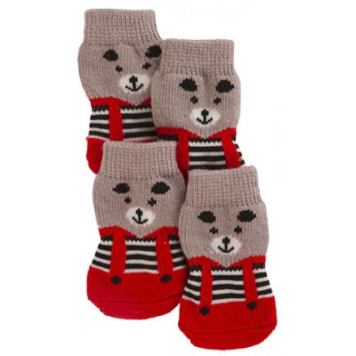 Носки для собак 4 шт. M размер