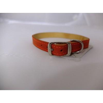 Kakla siksna ādas, 1.2/25-30 cm, oranža