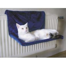 Guļamtīkls radiatoram - zils