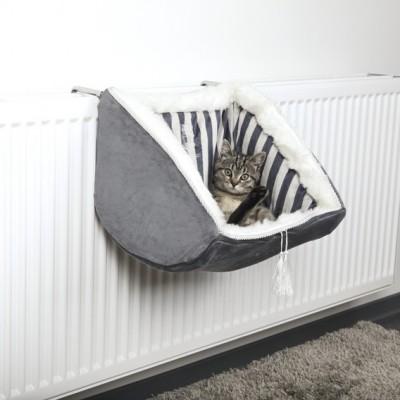 Cat Prince radiatora plīša guļamtīkls