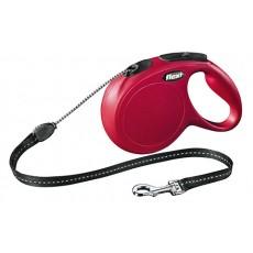 Flexi Classic, красный, 8m / 20 kg