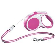 Flexi Vario cord, S- 5m/12 kg, rozā