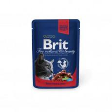 Brit Premium Cat Liellops ar zirņiem 100g