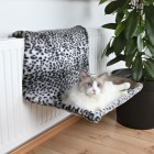 XL Radiator Bed, Snow Leopard