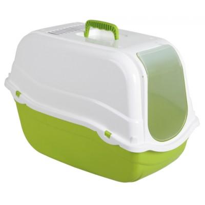 Kaķu tualete Minka, zaļa
